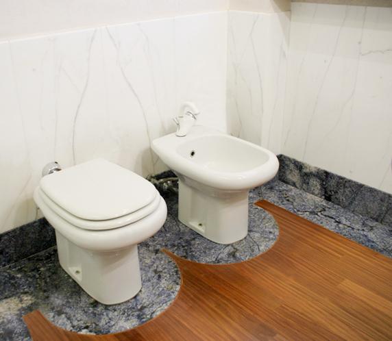 Bagni in granito - Lastre in granito per bagni | Ferrari Graniti